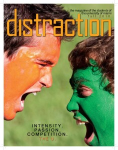 Distraction Magazine Fall Issue 2010