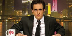 """Max Schloner is the host of UMTV's """"Off the Wire"""""""