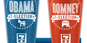 Election 7-Eleven Cups