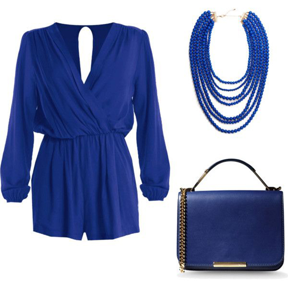 Cobalt outfit