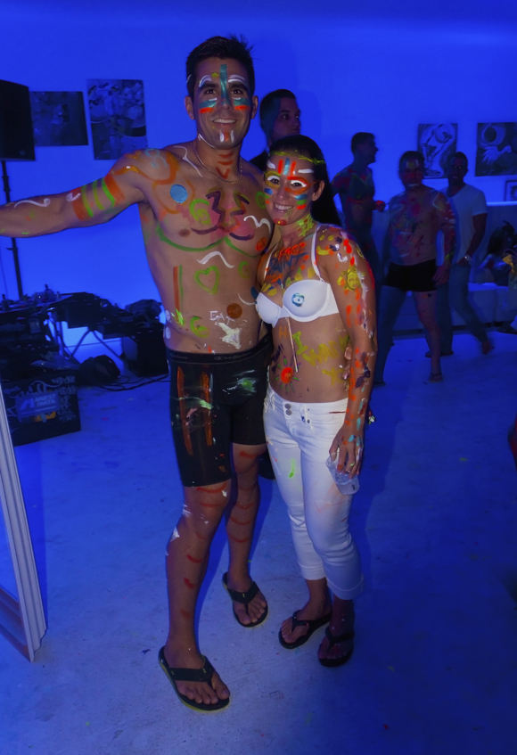 Miami Naked Painting Party