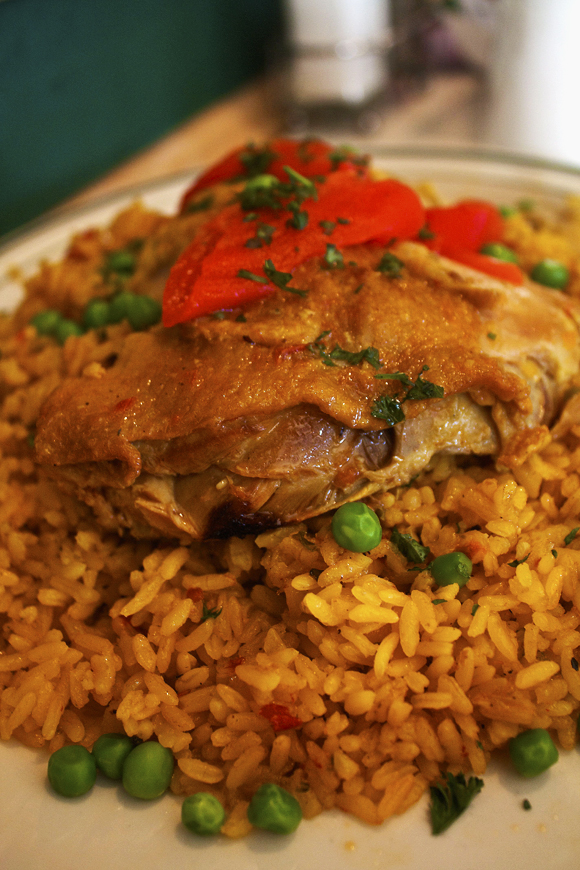 Chicken with rice (Close)