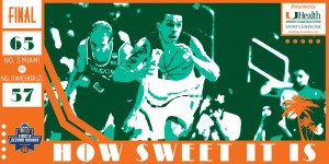 The Miami Hurricanes advanced to the Sweet 16 of the NCAA Tournament. / Hurricanesports