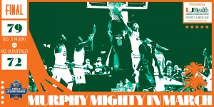 The Miami Hurricanes beat the Buffalo Bulls 79-72 Thursday night in Providence, R.I. / Hurricanesports
