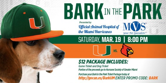 Bark in the Park Saturday March 19 / Hurricanesports