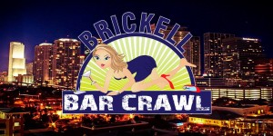 Brickell Bar Crawl occurs a few times a year where those over 21 years of age can enjoy drinks at several bars throughout the night. Source: Brickell Bar Crawl Facebook.