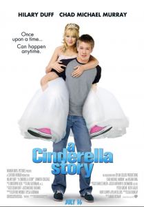 A Cinderella Story provides a modern twist on the classic fairy tale. Starring Hilary Duff and Chad Michael Murray, the film went on to win several Teen Choice Awards in 2005. Source: Warner Bros. Pictures.
