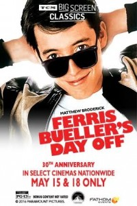 Ferris Beuller's Day Off stars Matthew Broderick as a teenager who takes the day off of school and is one of the top-grossing films of all time. Paramount Pictures celebrated its 30th anniversary in 2016. Source: Paramount Pictures.