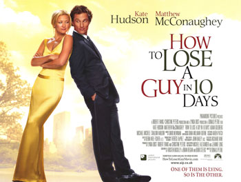 The original way on how to ghost someone, Kate Hudson and Matthew McConaughey star in this class romantic comedy. It's one of the many reasons why the early 2000's were such a great time for movies. Source: Paramount Pictures.