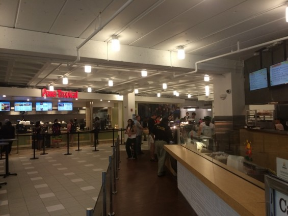 A look inside the new food court at the University of Miami (CNN).