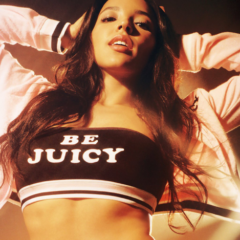Tinashe sporting Juicy Couture's new collection made in collaboration with Urban Outfitters. Source: Popsugar.