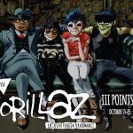 II Points Festival announced Monday that Gorillaz would headline the 2017 festival. Source: III Points Festival