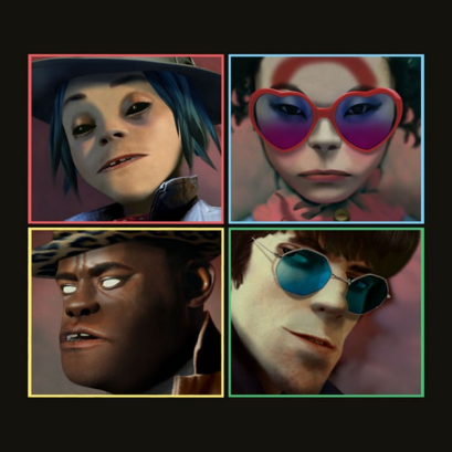 Gorillaz' fifth studio album Humanz is set to release April 28. Source: Apple Music